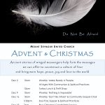 Advent & Christmas Theme: Angels Among Us - Don't Be Afraid
