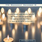 Blue Christmas Wednesday, December 18 at 7pm