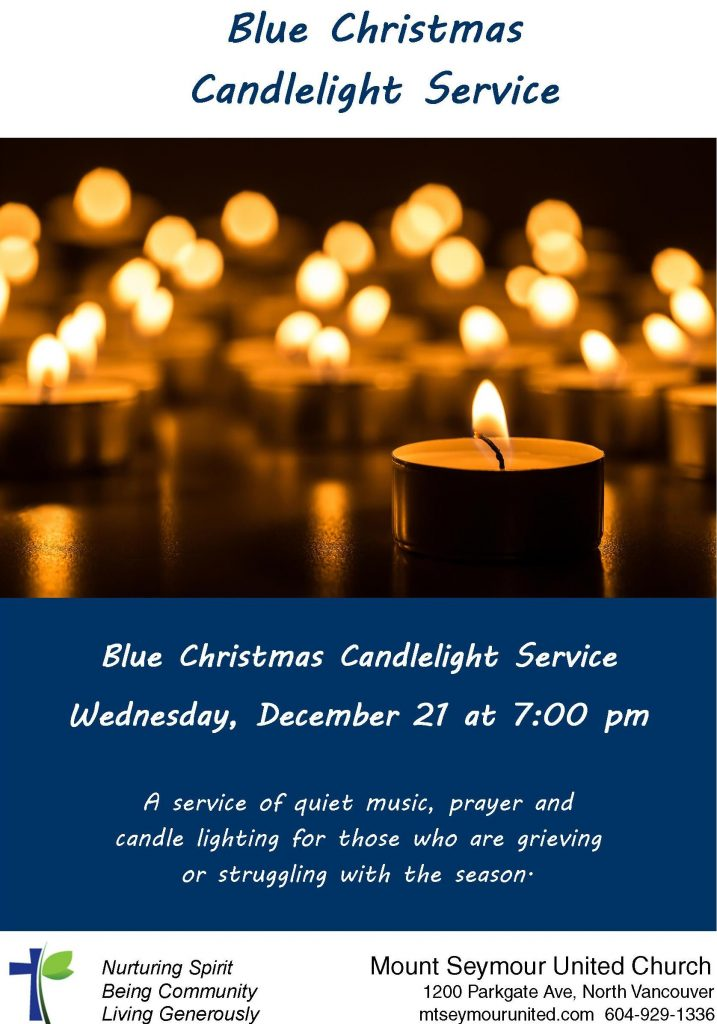 blue christmas service december 21 7 pm - Blue Christmas Service