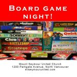 Board Game Night! |  Friday, June 28 | 7pm