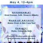 Thrift Shop Grad Event - May 4   |  12-4pm