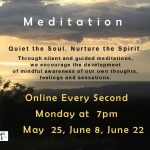 Meditation   |   Every Second Monday Online