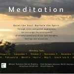 Meditation   |   Monday, March  9 |   7pm