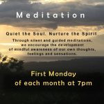 Meditation   |    Mondays Fall 2020