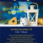 Soul-FULL Supper - Sunday, December 16  |  5:30pm
