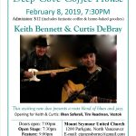 Deep Cove Coffee House  |  February 8, 2019  |  Keith Bennett & Curtis DeBray
